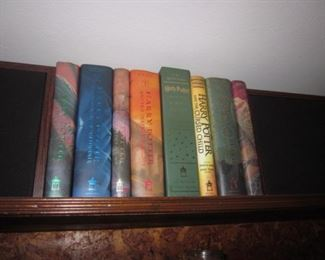 Harry Potter Series with a First edition