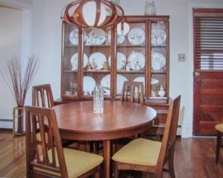 Mid-Century Modern Dining Room Suite