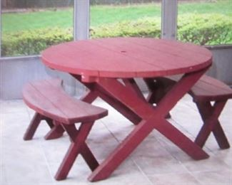 Redwood Outdoor Patio Suite