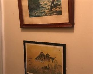 Old lithographs