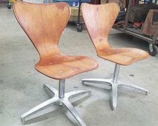 Series 7 Mid Century Modern chairs