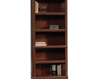 Sauder(R) Heritage Hill Open Bookcase, 71 1/4in.H x 29 3/4in.W x 13in.D, Classic Cherry