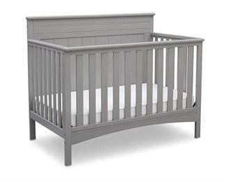 Delta Children Fancy 4-in-1 Standard Full-Sized Crib - Grey