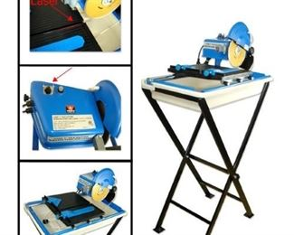 Neiko Tile Saw Cutter %7C 7  Standing Electric Wet & Dry Ceramic Masonry Laser Blade