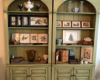 Shelves, Asian Art, Microscope, Glassware