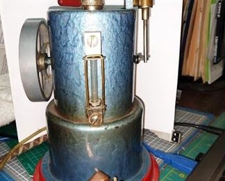 Living Room:  Toy Steam Engine