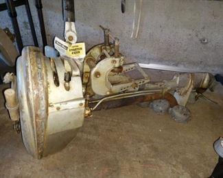 Garage:  Vintage Champion Boat Motor