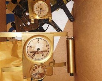 Living Room: Gauges/Clock Warren Telechron Master Clock Type A