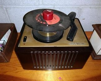 Basement:  45 Record Player (Could not get it to work)