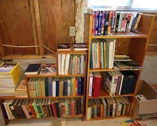 Basement:  Books