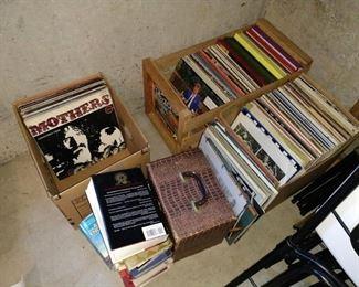 Basement:  Vintage LP'S