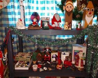 Basement: Christmas/Halloween & Other Stuff
