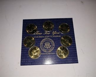 Living Room:  Collector Coins