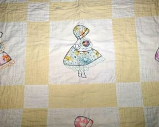1st Bedroom Right:  Baby Quilt