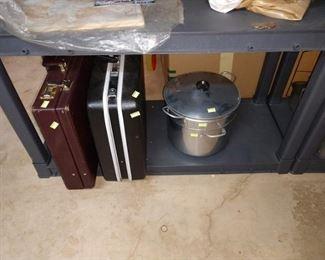 Basement: BriefCases, Pot