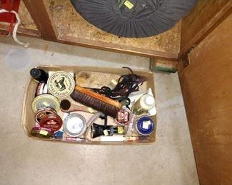 Basement:  Shoe Shine Kit