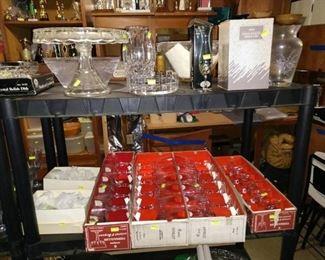 Basement:  Glasses, Glass Stuff