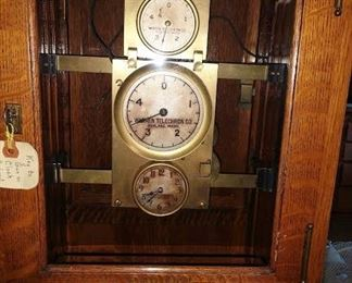 Living Room: Rare Warren Telechron Master Clock Type A (Not Working)