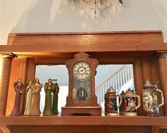 Angels- Mantle Clock - Steins