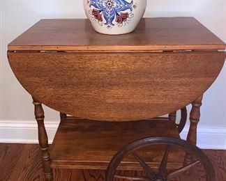 Wood Tea cart