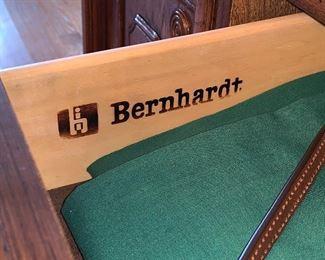 Bernhardt lighted dining room hutch
