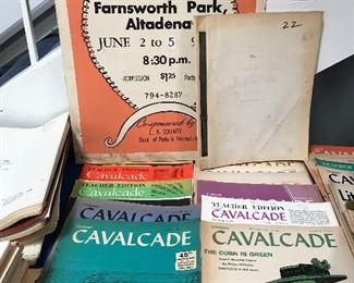 Literary Cavalcade 1961-1979