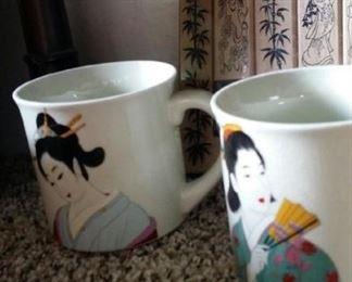 tbs geisha mugs
