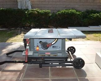 Craftsman 10 IN. PORTABLE TABLE SAW, used for one small project.