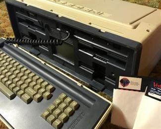 Osborne computer circa 1982