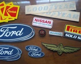 Car stickers, auto manuals, automotive books galore!