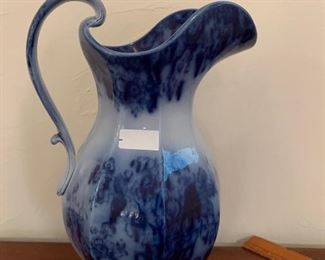 Flow Blue Indian Stone