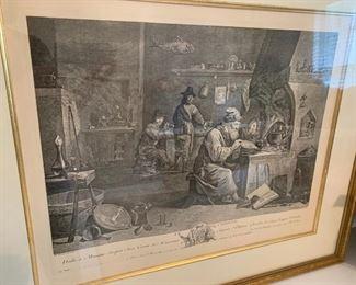 Jacque Lebas - D. Teniers, Chemist