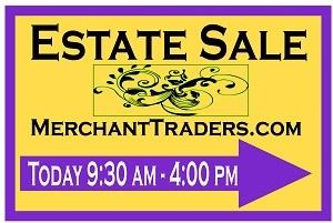 Merchant Traders Estate Sales, Hinsdale