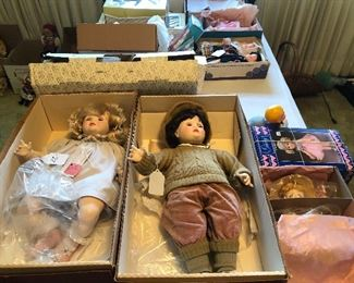 collectible dolls