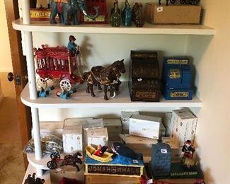 cast iron repro toys