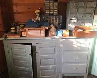vintage tool cabinets