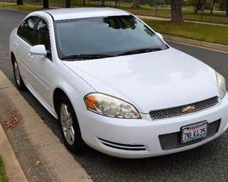 2013 Chevy Impala, LAST MINUTE ADDITION