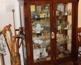 Gorgeous Antique curio cabinet