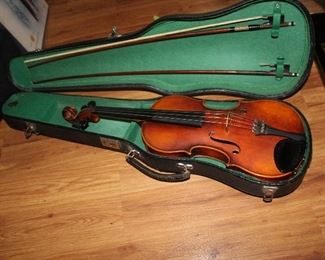 One of two violins
