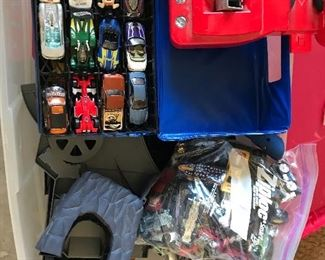 Tons of Match Box Cars and accessories