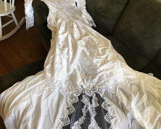 Wedding Dress, Size large