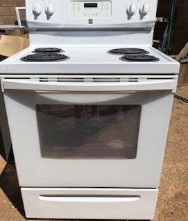 Electric Range - $60