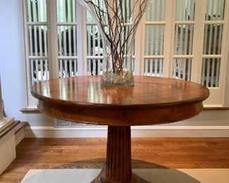 Circular Entry Table by Milling Road