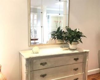 Guy Chaddock Chest and Tile Mirror