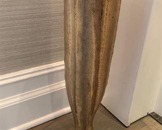 63. Zodax Snake Skin Vase (6'' x 24'')
