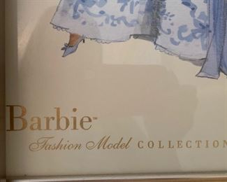 116. Barbie Fashion Model Collection by Robert Best 00415/3000 (17'' x 21'')