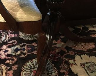 Claw foot pedestal legs