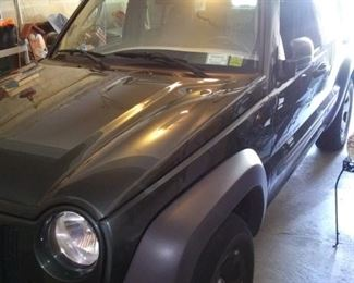2003 JEEP LIBERTY SPORT WITH 136,000 MILES