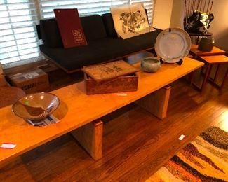 Scandinavian inspired hand-made tables and furnishings