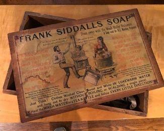 actual Frank Siddalls soap box